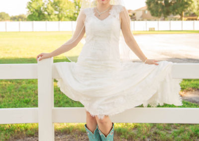 Outdoor Wedding Venue - Bridal Portrait - Beautiful Wedding Photographs - Venue Rental - Williamsburg Square - United Women's Club of Lakeland