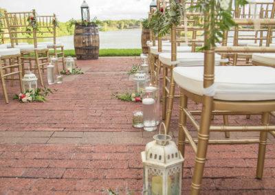 Wedding Ceremony - Outdoor Wedding Venue - Venue Rental - Williamsburg Square - United Women's Club of Lakeland
