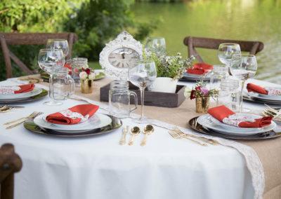 Outdoor Wedding Reception Venue - Williamsburg Square - Lakeland, FL