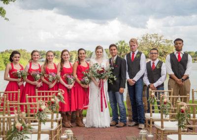 Outdoor Wedding Venue -Wedding Party