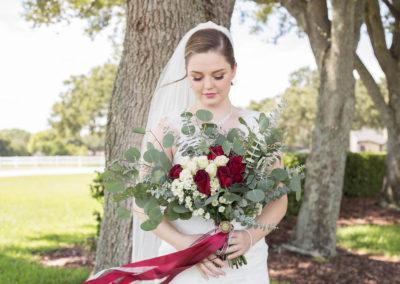 Outdoor Wedding Venue - Bridal Portrait