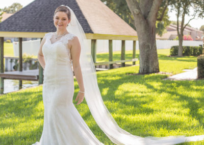 Outdoor Wedding Venue - Bridal Portrait
