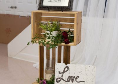 Indoor Wedding Reception Decorations