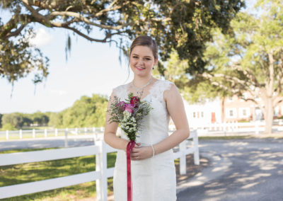 Outdoor Venue - Bridal Portrait