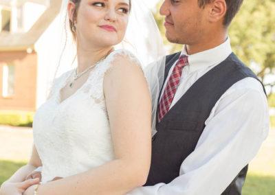 Outdoor Venue - Bride and Groom - Beautiful Wedding Photographs