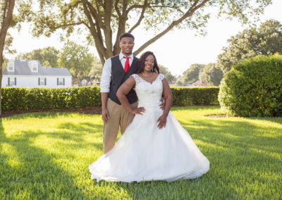 Outdoor Venue - Bride and Groom - Beautiful Wedding Photographs