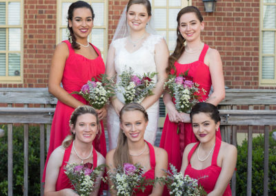 Outdoor Venue - Wedding Party - Bride and bridesmaids